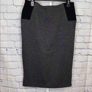 NY&Co Gray pencil skirt